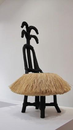 Homemyhome décoration intérieure inspiration Ethno-design inspiration africaine pour la Chaise de Christian Astuguevieille, expo à la Piscine de Roubaix