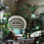 #homemyhomedcéorationintérieure#espriturbanjungle#fauteuil#rotin#palmiers