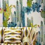 #homemyhomedécorationintérieure#conseilendéco#inspirationtropicale#papierpeint#cactus